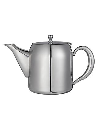 John Lewis & Partners Classic Stainless Steel Teapot, 700ml