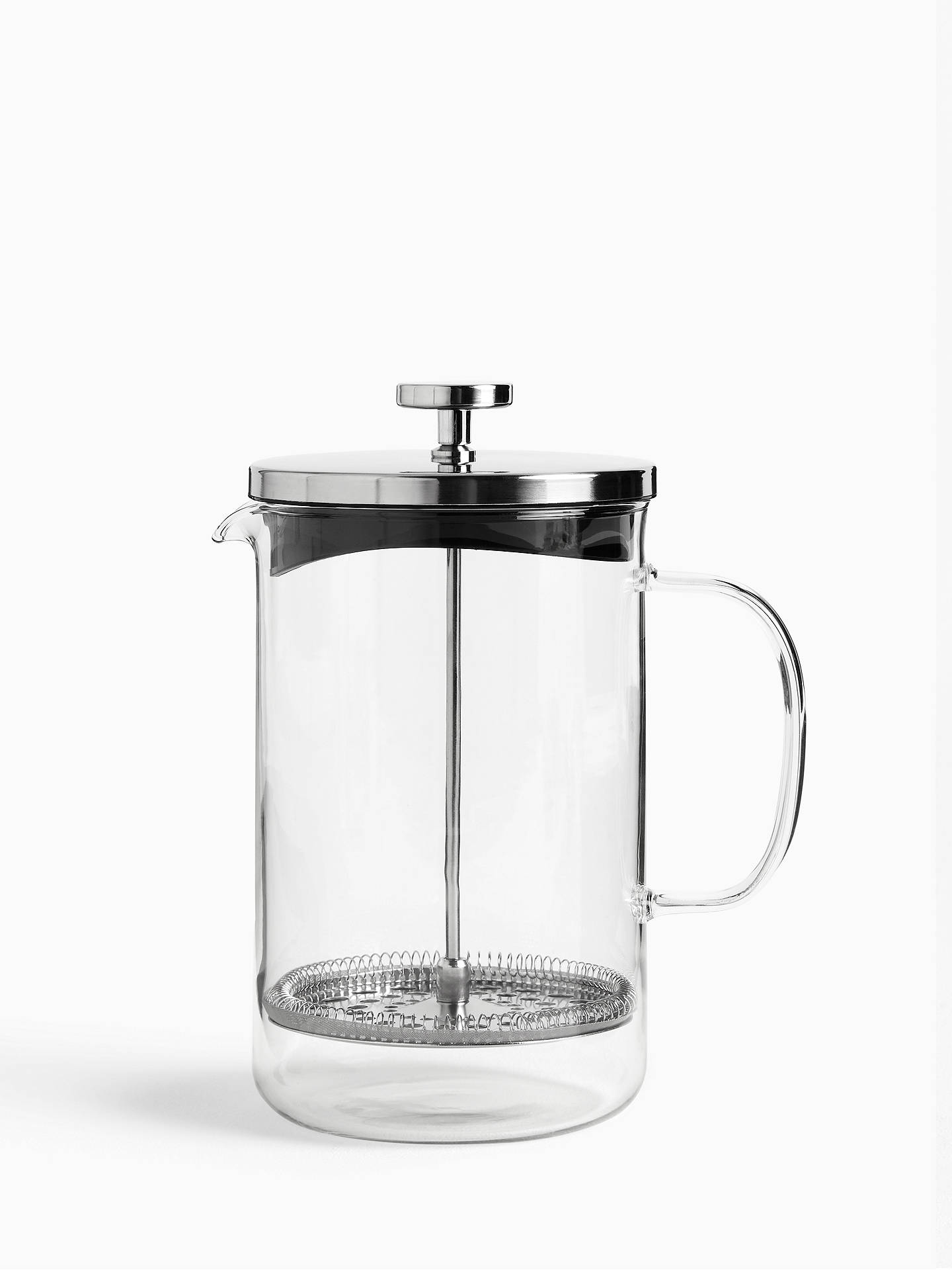 House By John Lewis 12 Cup Cafetiere 15l