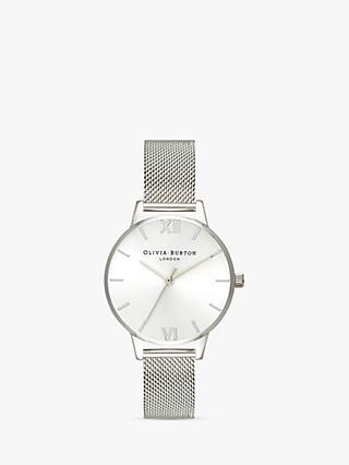 Olivia Burton Women's Sunray Mesh Bracelet Strap Watch