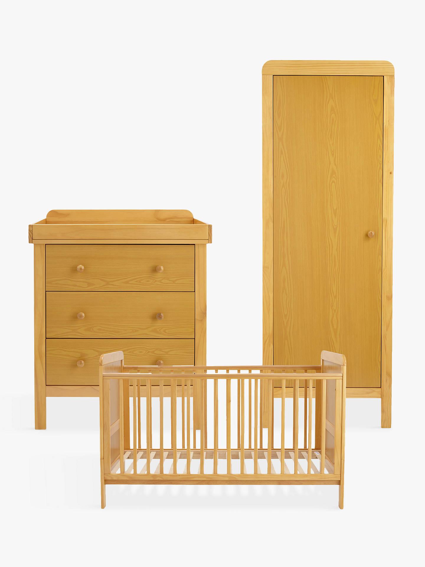 John Lewis Alex Nursery Furniture Set Natural