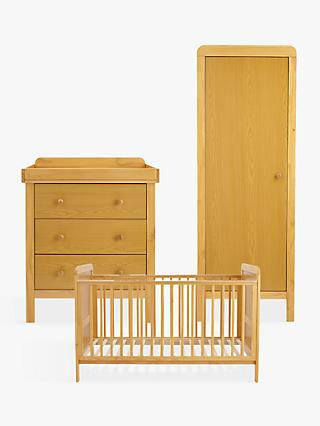 John Lewis Alex Nursery Furniture Set, Natural