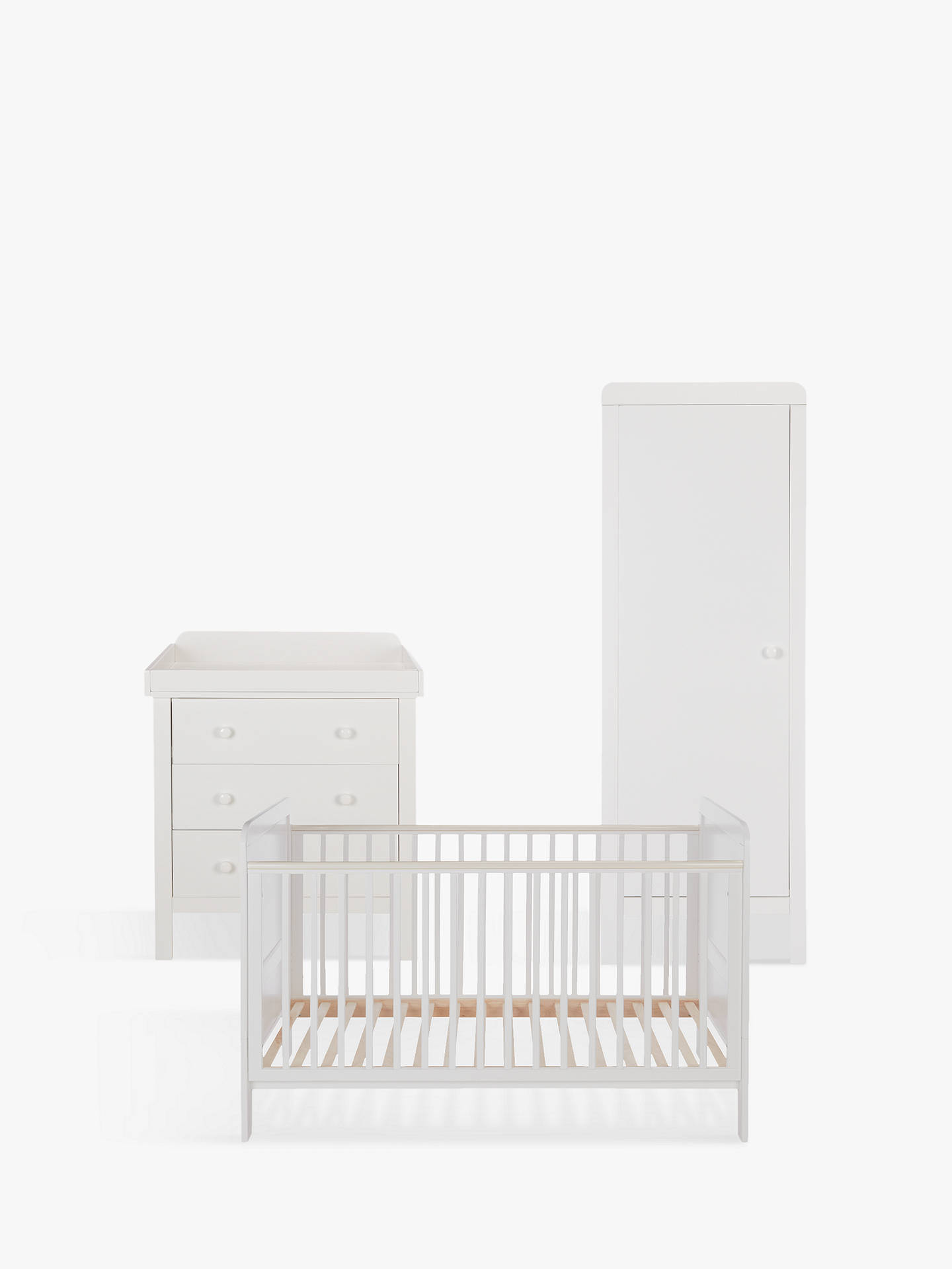 John Lewis Alex Nursery Furniture Set White Online At Johnlewis