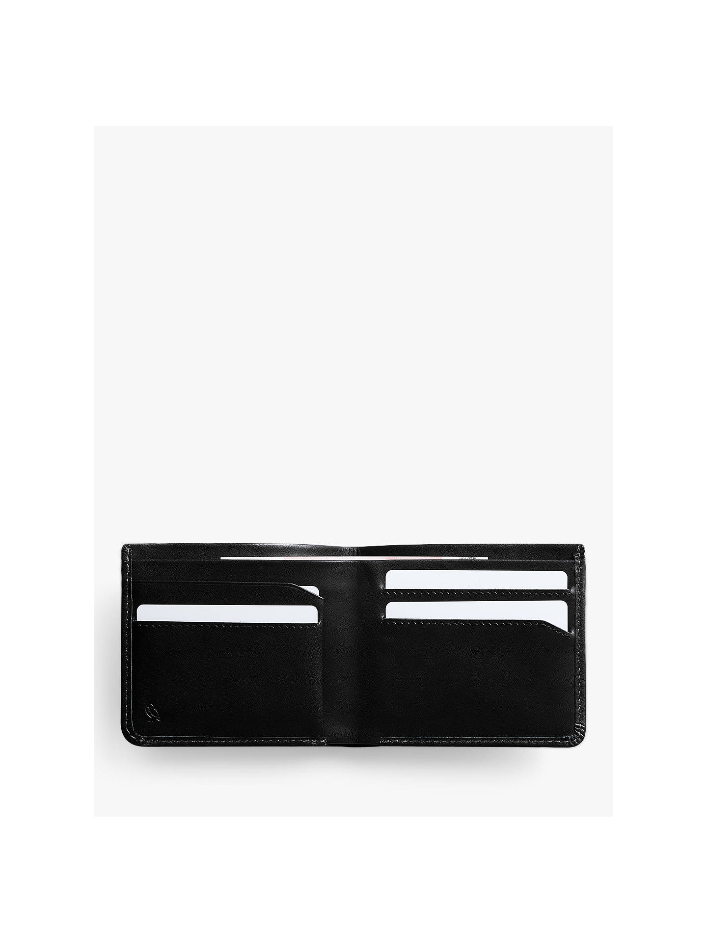 BuyBellroy Note Sleeve Leather Wallet, Black Online at johnlewis.com