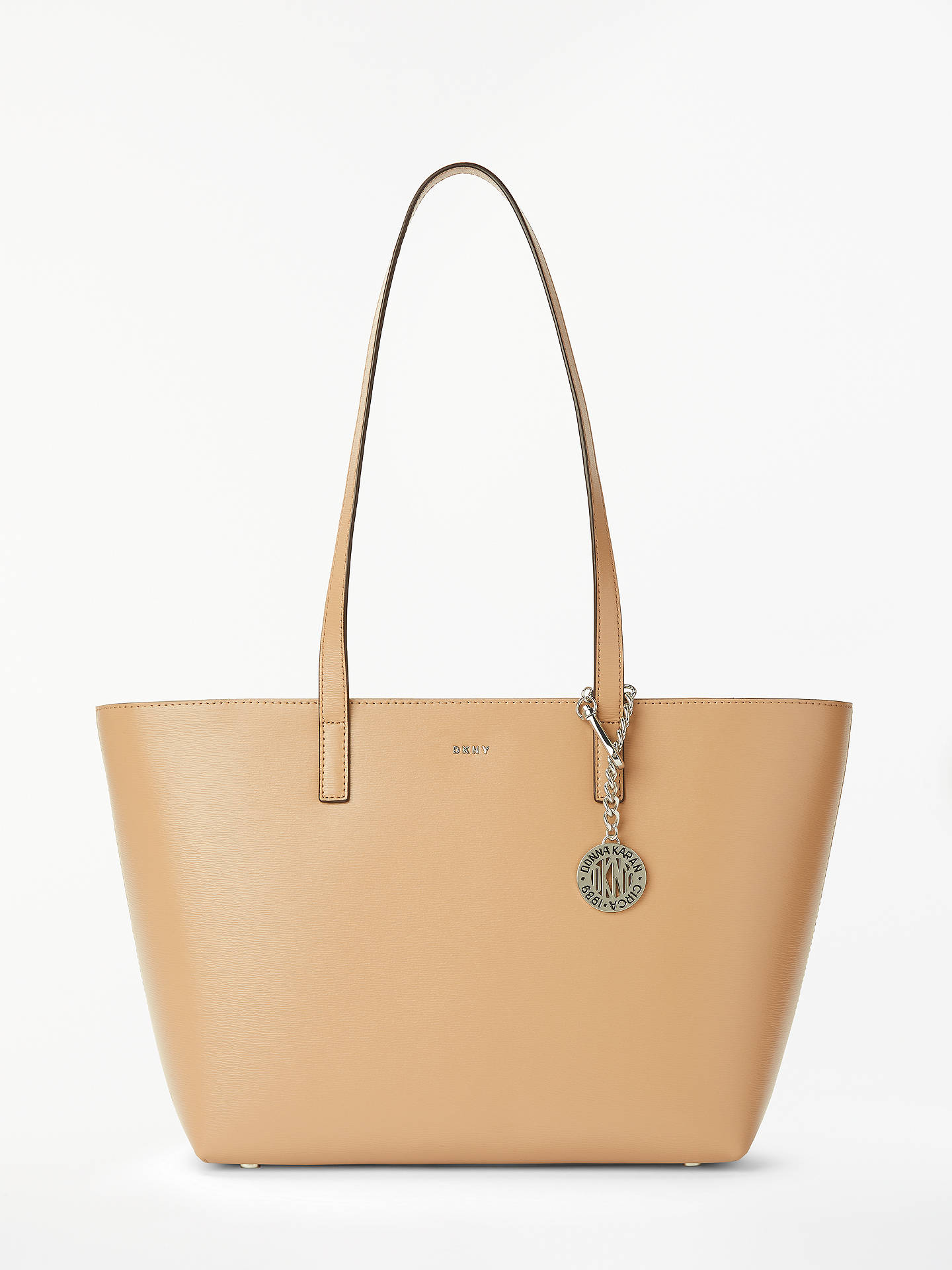 3fc25dc9b00 DKNY Bryant Medium Leather Tote Bag at John Lewis   Partners