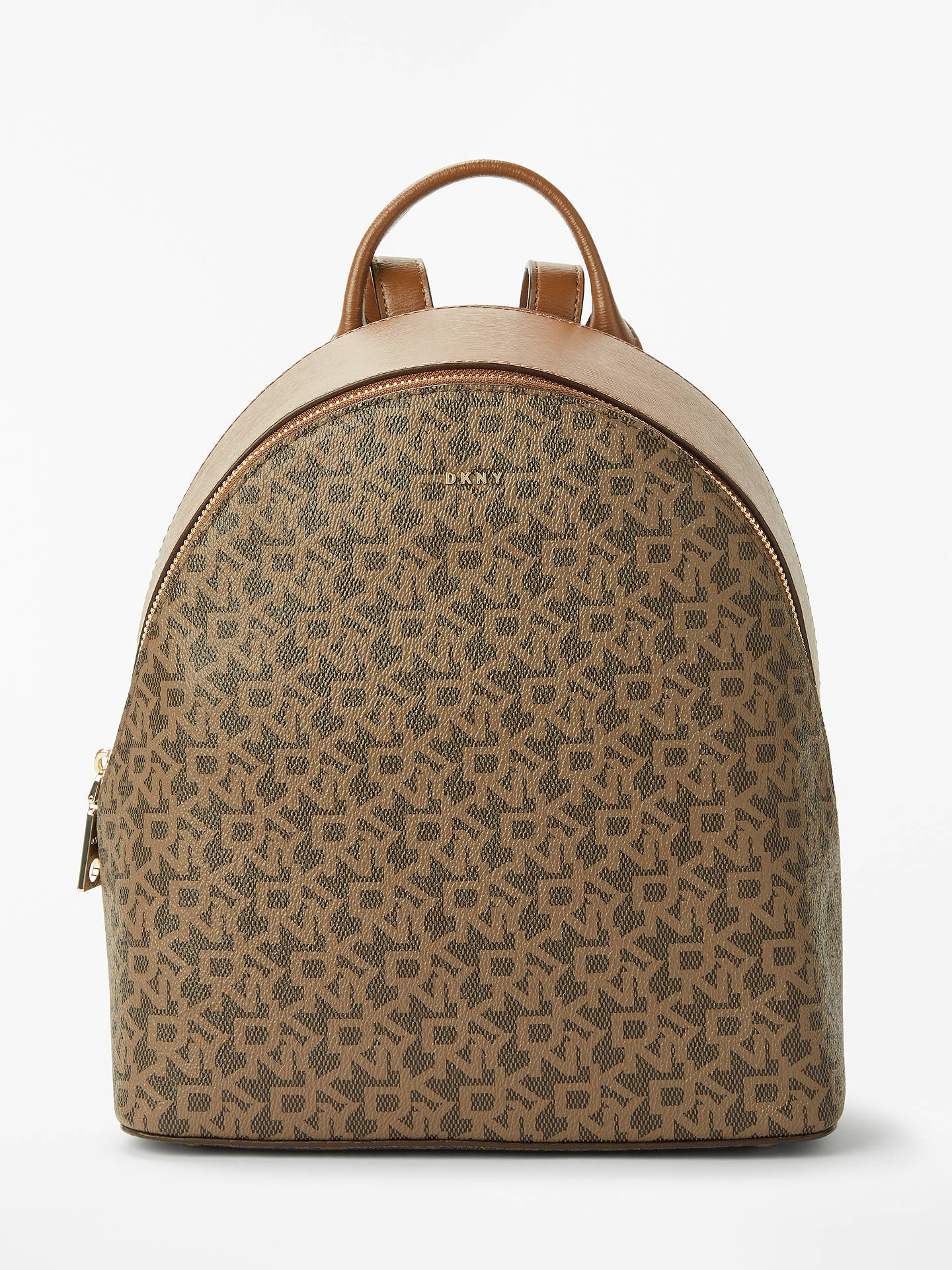 nice cheap top quality the latest DKNY Bryant Medium Leather Backpack, Chocolate