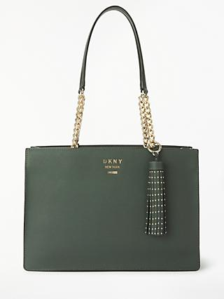 7aac9d798d62 DKNY Liza Medium Tassel Tote Bag