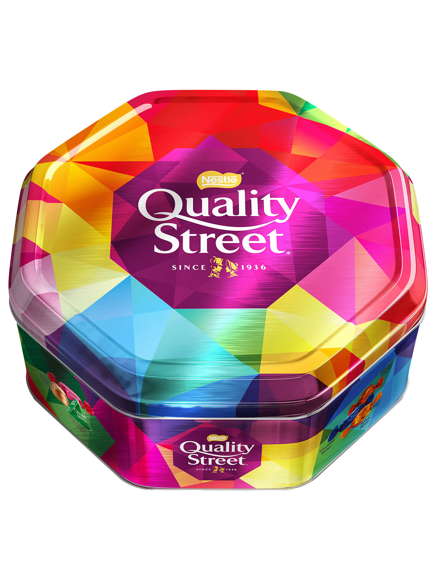quality street  Nestlé Quality Street Tin, 1.2kg at John Lewis & Partners