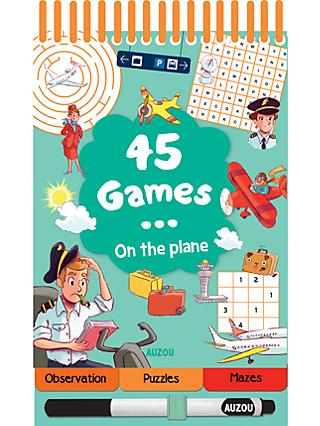 45 Games On The Plane Children's Activity Book