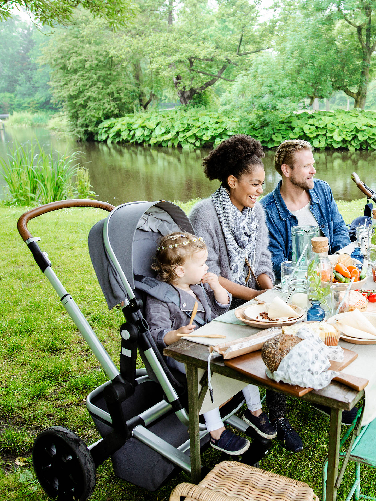 Buy Joolz Day3 Pushchair with Carrycot, Hippo Grey Online at johnlewis.com