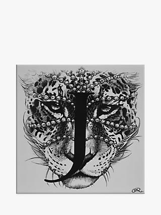 Rory Dobner Jaguar Decorative Tile, 14.8 x 14.8cm