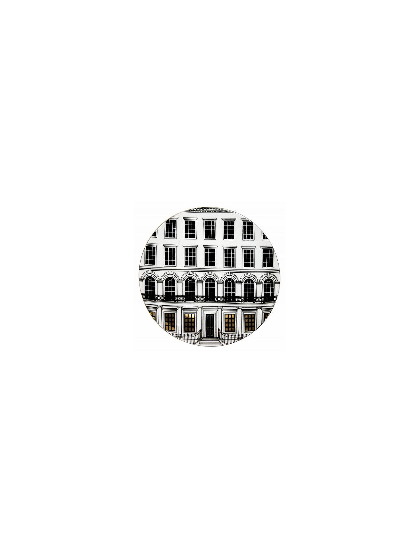 Buy Rory Dobner Beautiful Buildings Plate, Dia.27.5cm Online at johnlewis.com