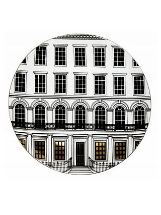 Rory Dobner Beautiful Buildings Plate, Dia.27.5cm