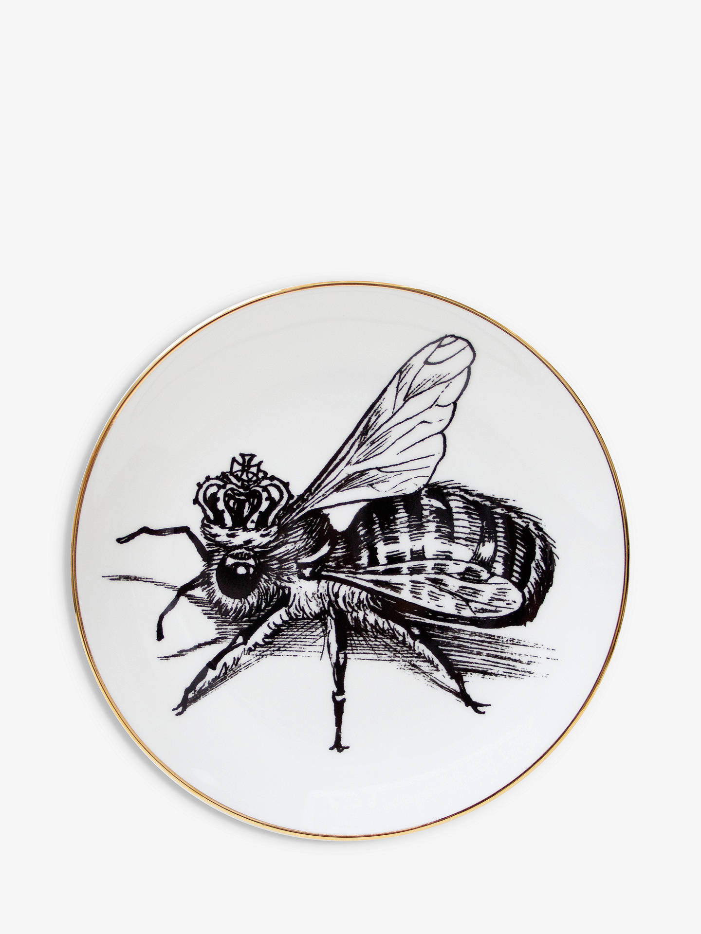 Buy Rory Dobner Queen Bee Plate, Dia.16cm Online at johnlewis.com