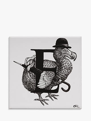 Buy Rory Dobner Extinct Eccentric Decorative Tile, 14.8 x 14.8cm Online at johnlewis.com