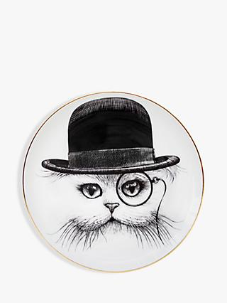 Rory Dobner Cat in Hat Plate, Dia.16cm