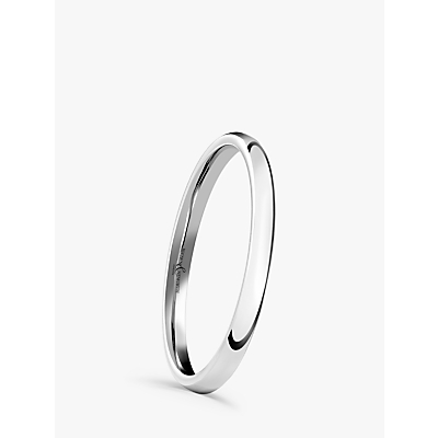 Image of Brown & Newirth Platinum 1.5mm Court Shape Wedding Ring
