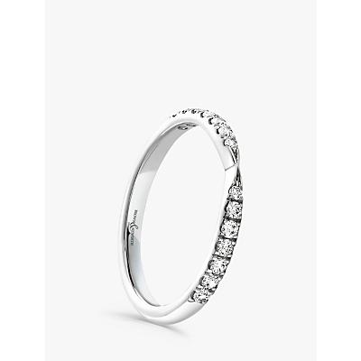 Image of Brown & Newirth Platinum Diamond Wedding Ring, 0.25ct