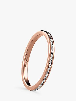 Brown & Newirth 18ct Rose Gold Diamond Eternity Ring, 0.28ct