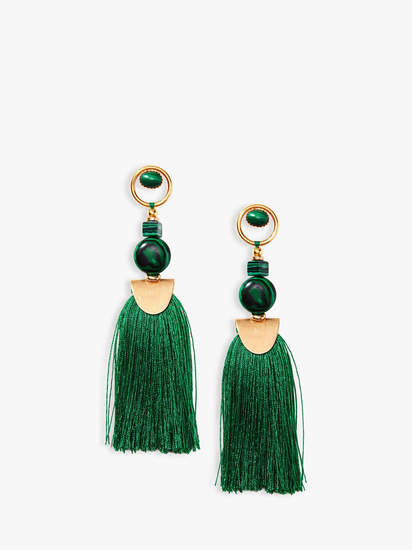 2fc66f7732c Buy Nectar Nectar Silk Thread Tassel Drop Earrings