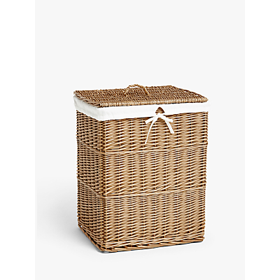 John Lewis & Partners Wicker Laundry Basket