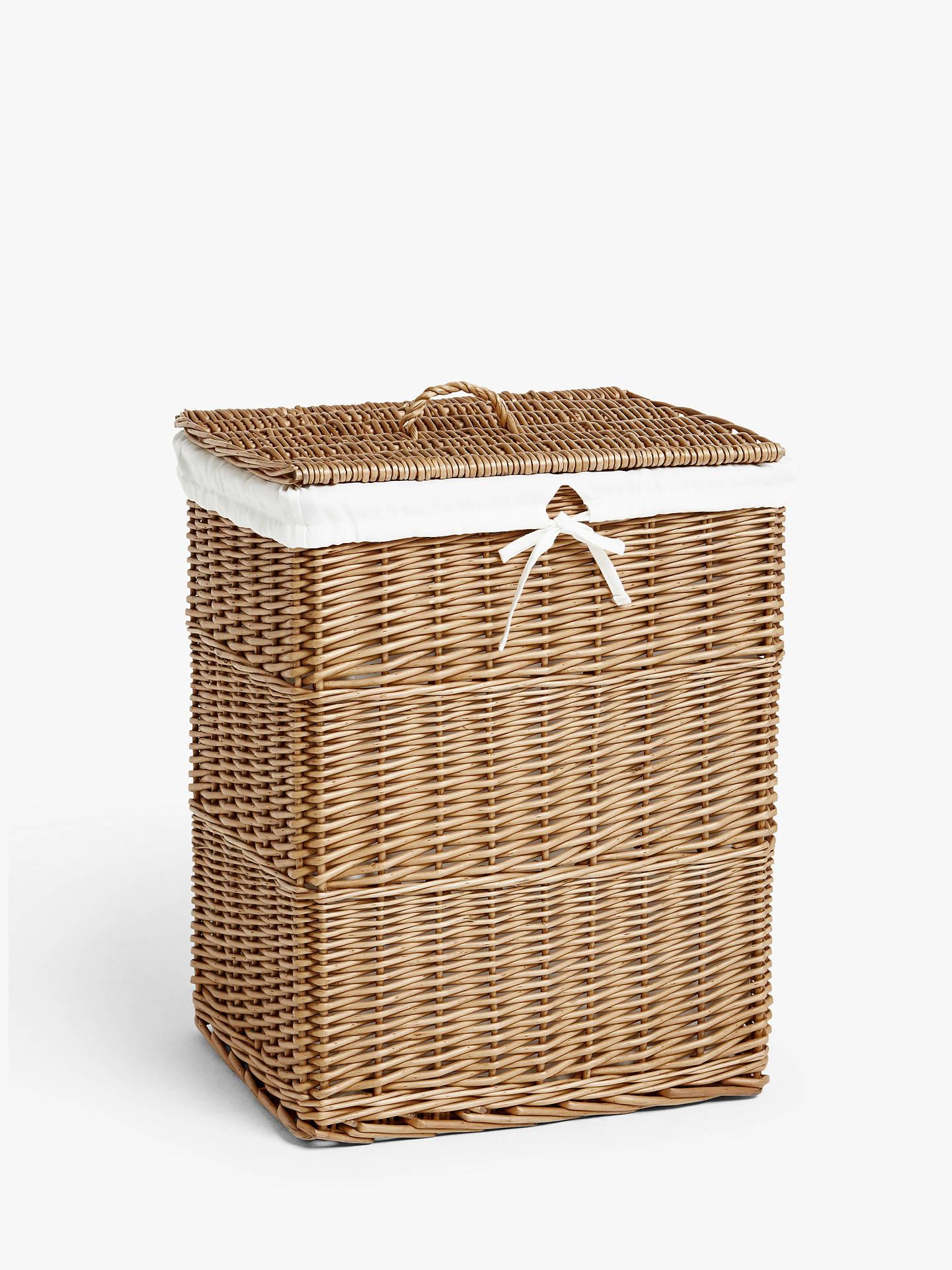 John Lewis Partners Wicker Laundry Basket At John Lewis Partners