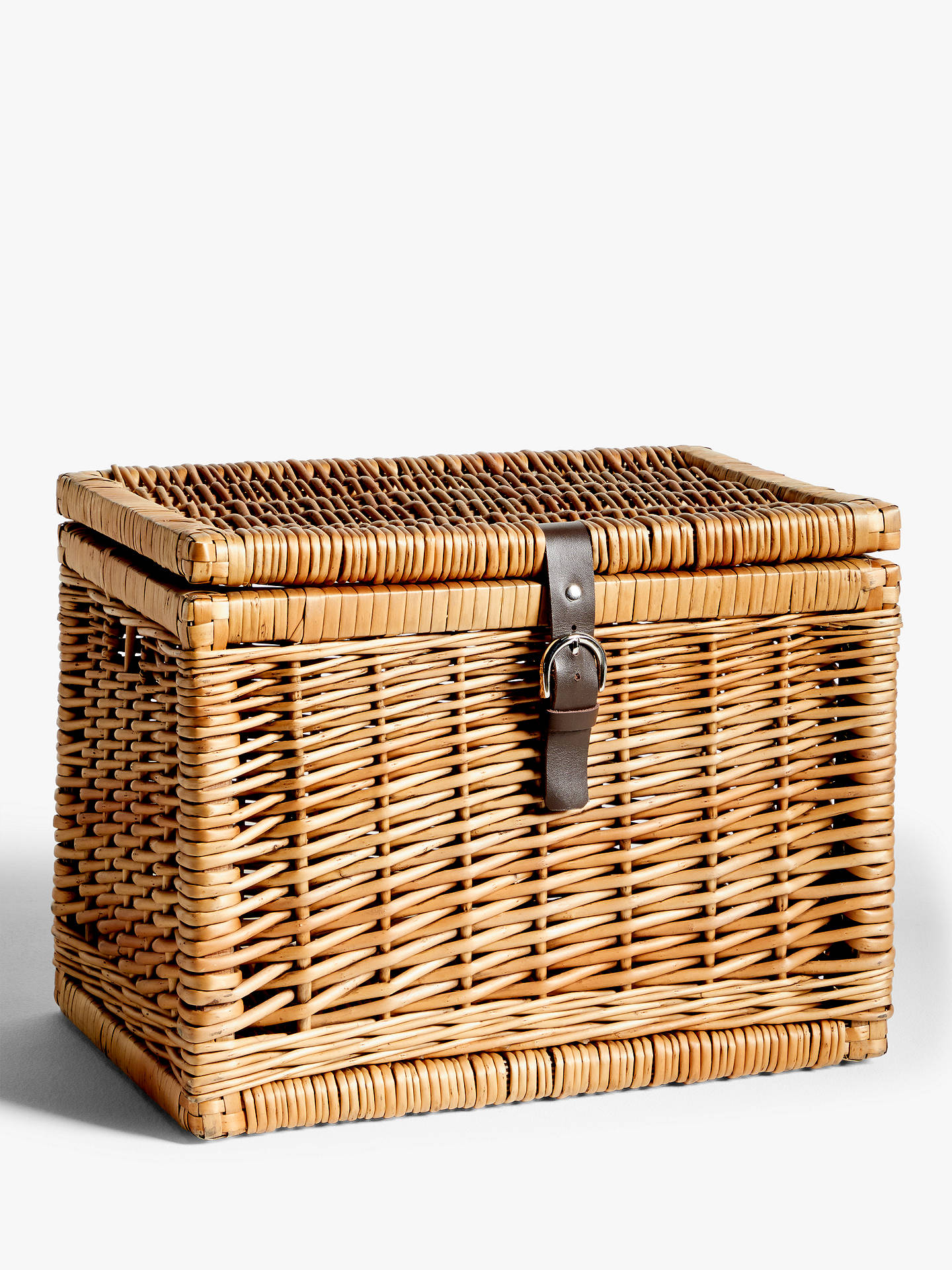 Croft Collection Wicker Trunk Small At John Lewis Partners