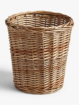 Croft Collection Wicker Waste Paper Bin
