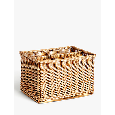 Croft Collection Wicker Magazine Rack
