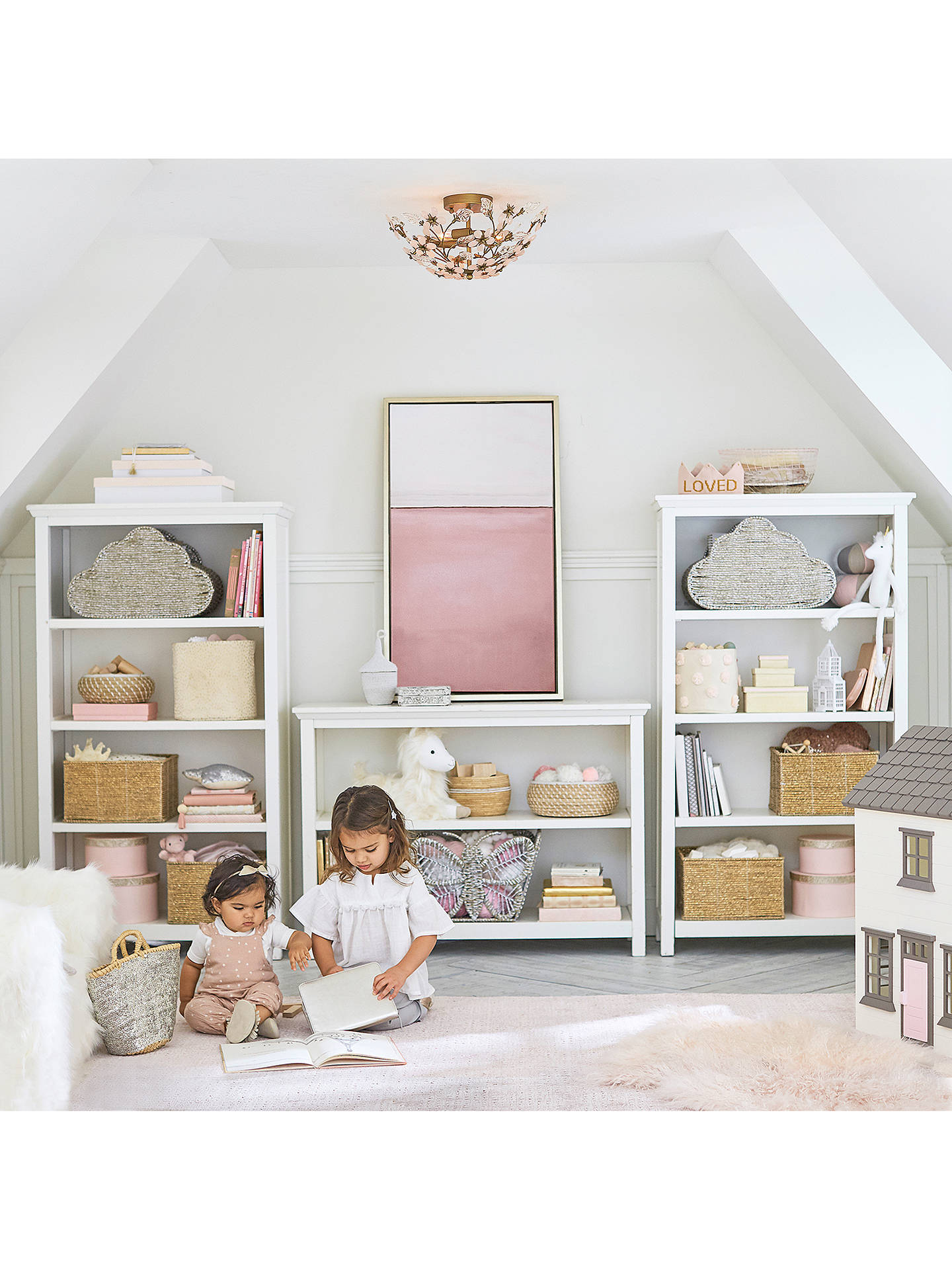 Pottery Barn Kids Cameron Bookcase White At John Lewis