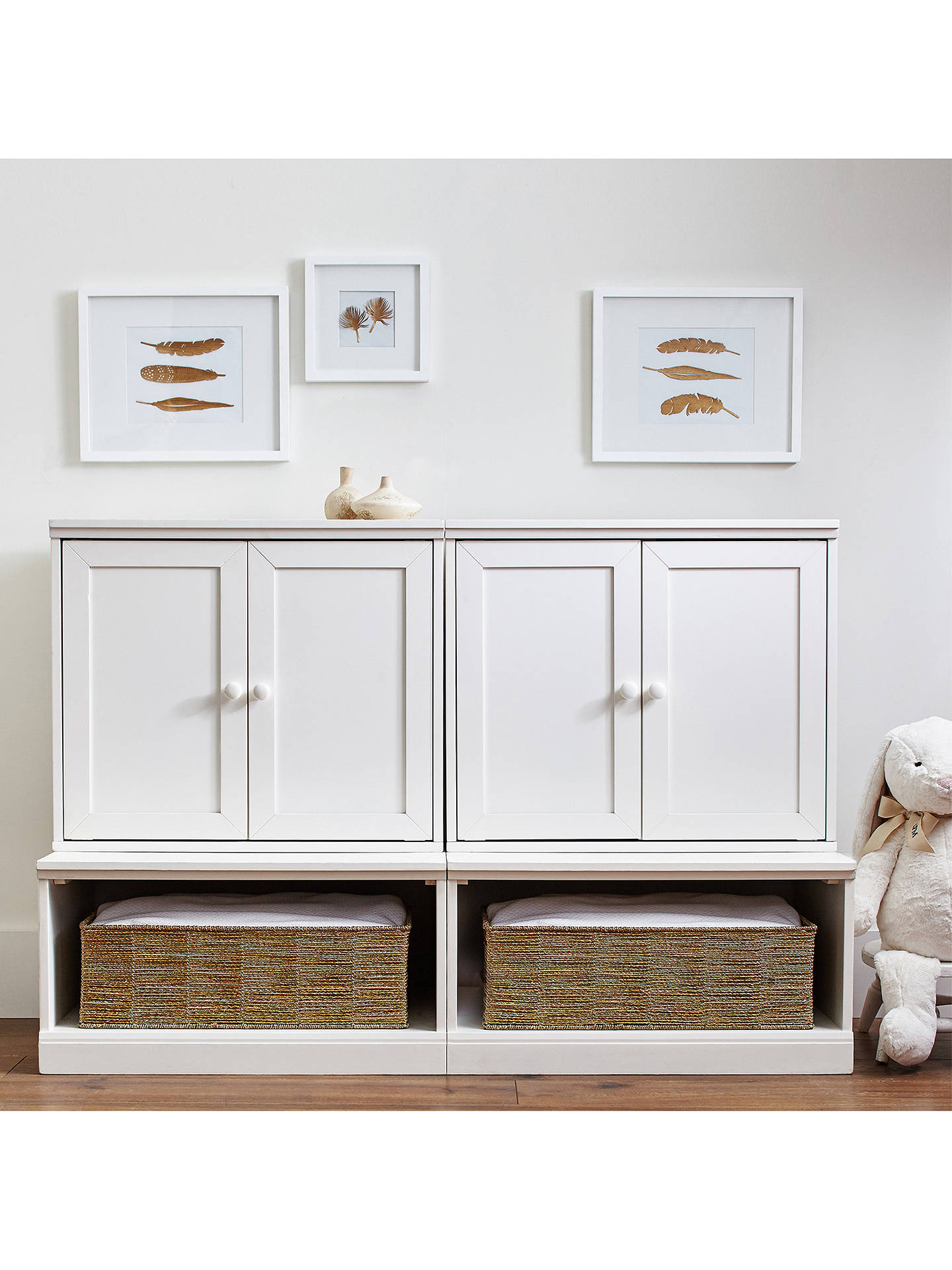 Pottery Barn Kids Cameron Cabinet White At John Lewis