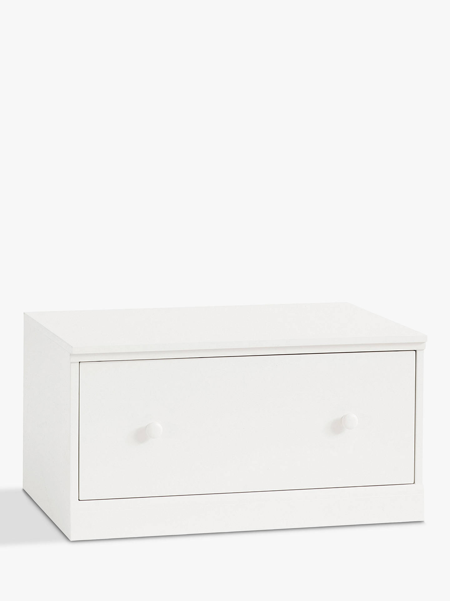 Buy Pottery Barn Kids Cameron Draw Base, White Online at johnlewis.com