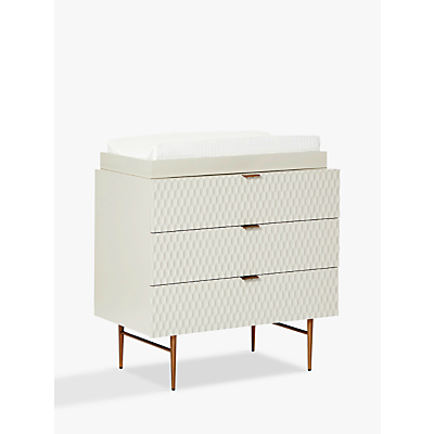 Pottery Barn Kids Audrey Changing Unit Dresser, Parchment