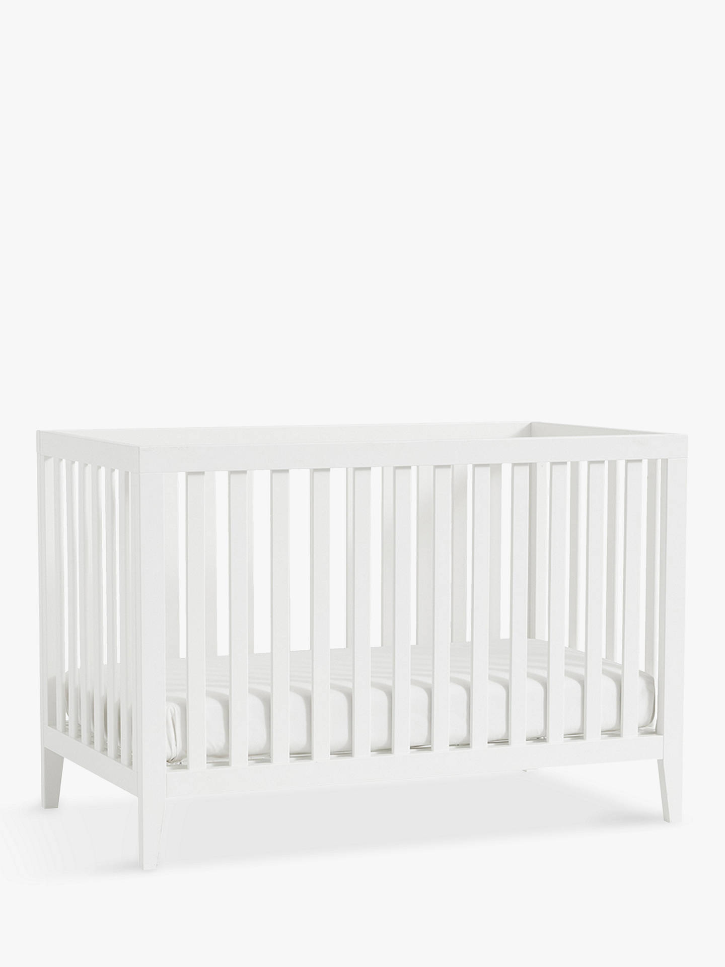 Buy Pottery Barn Kids Marlow Convertible Cotbed, White Online at johnlewis.com