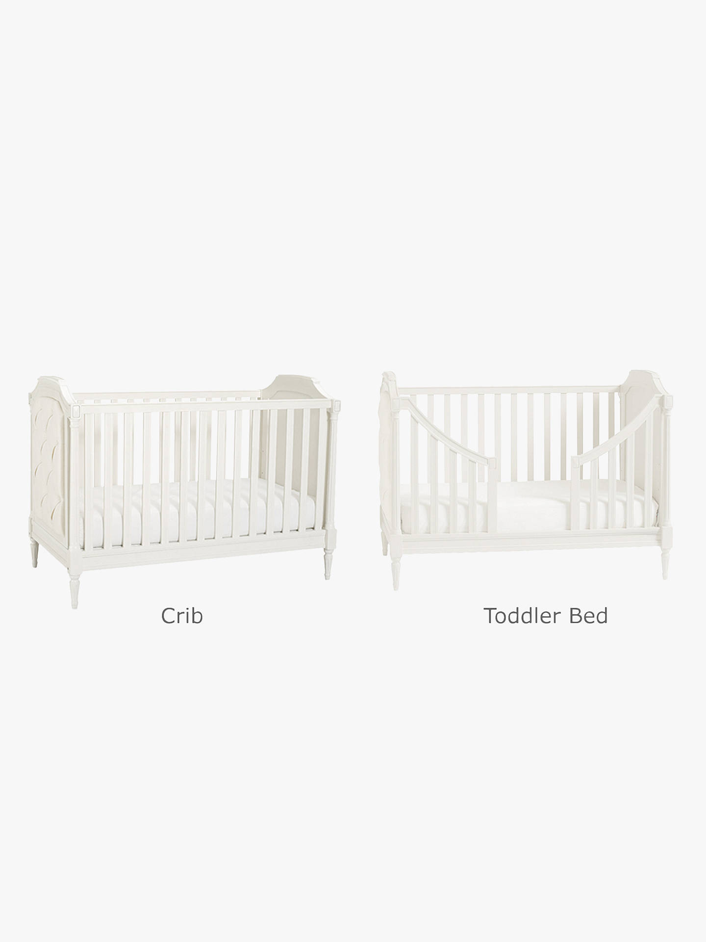 Buy Pottery Barn Kids Blythe Convertible Cotbed, French White Online at johnlewis.com