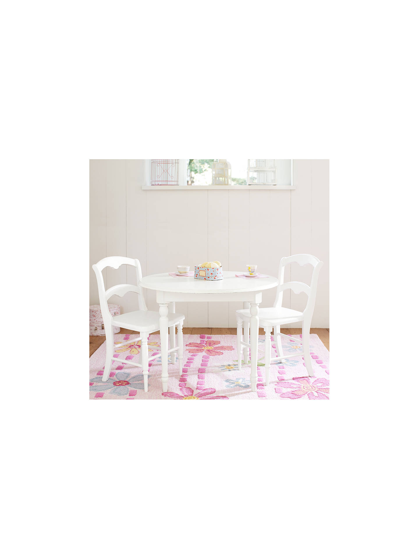 Pottery Barn Kids Finley Play Chair Pack Of 2 Vintage White At John Lewis Partners