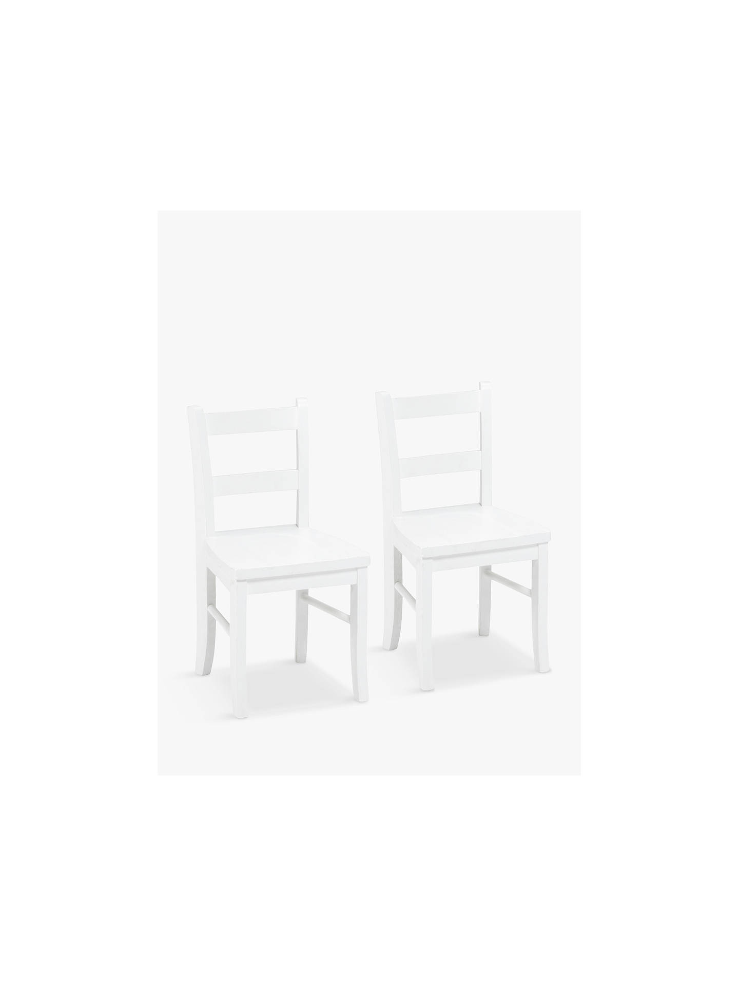 Pottery Barn Kids My First Chair Set Of 2 Simply White