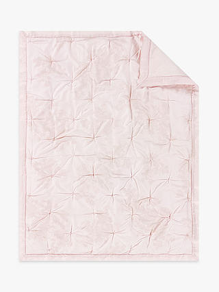 Buy Pottery Barn Kids Monique Lhuillier Sateen Toddler Quilt, Blush Pink Online at johnlewis.com