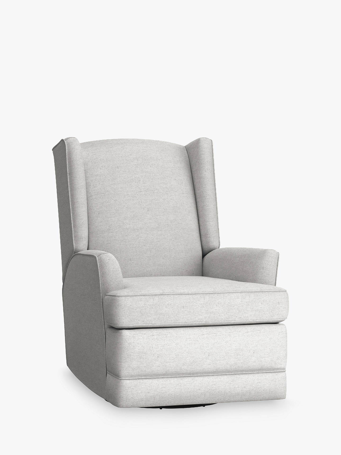 BuyPottery Barn Kids Modern Wingback Reclining Nursing Chair, Ash Online at johnlewis.com