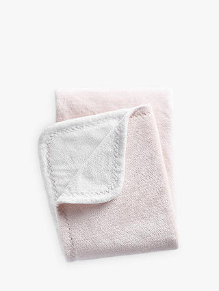 Buy Pottery Barn Kids Chamois Baby Blanket, Blush Online at johnlewis.com