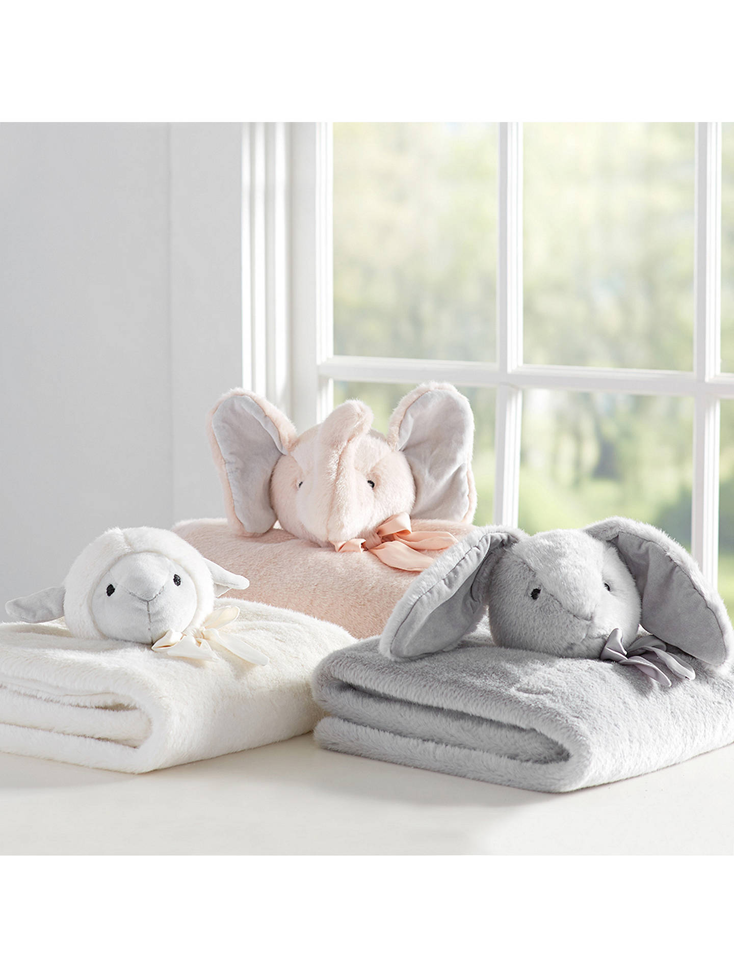 BuyPottery Barn Kids Sheep Blanket, White Online at johnlewis.com