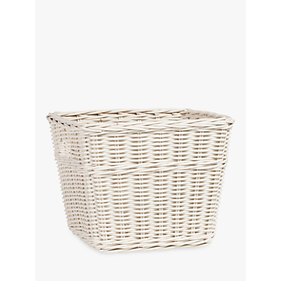 Pottery Barn Kids Sabrina Large Storage Basket, White