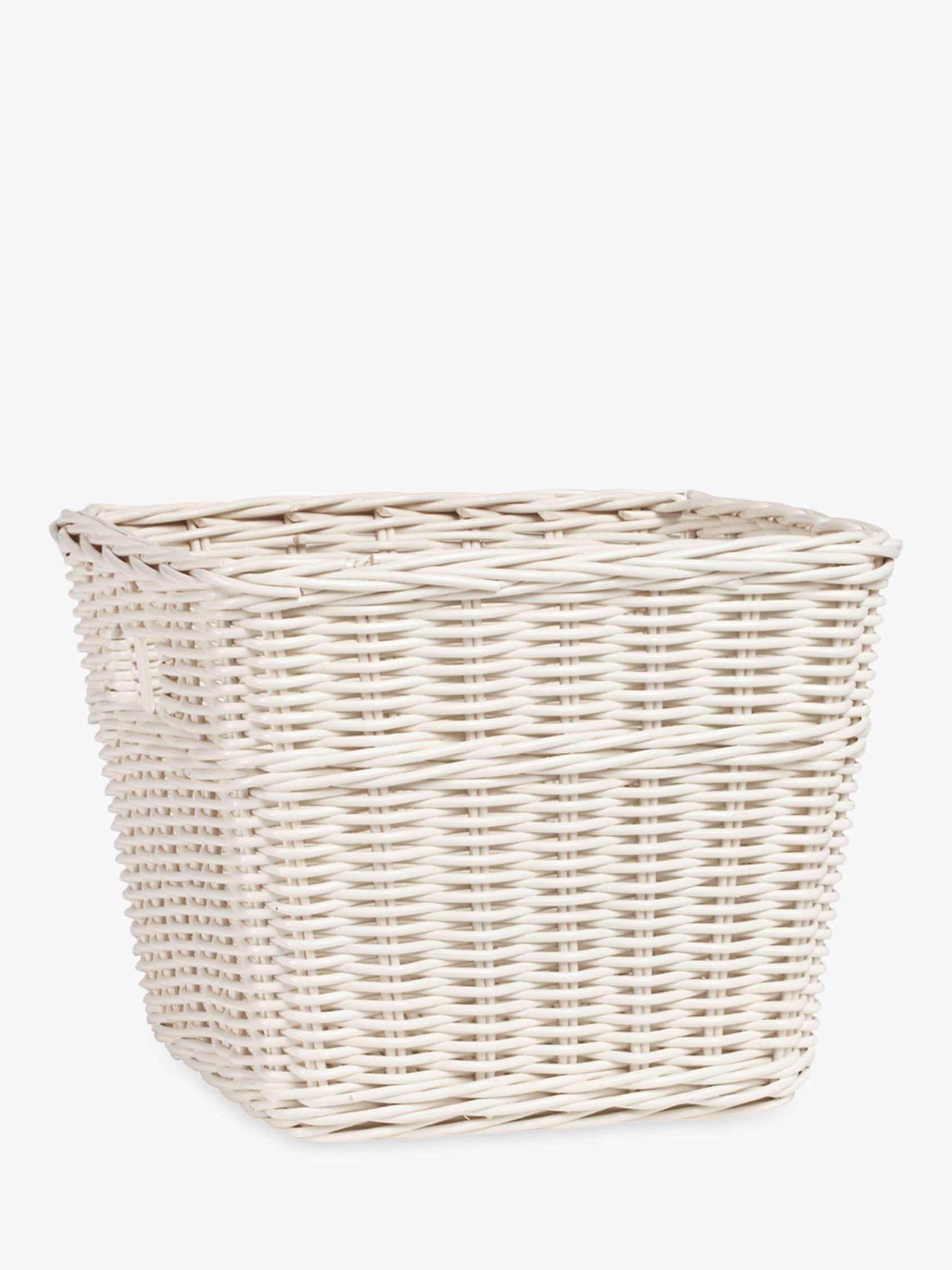 Pottery Barn Kids Sabrina Large Storage Basket, White
