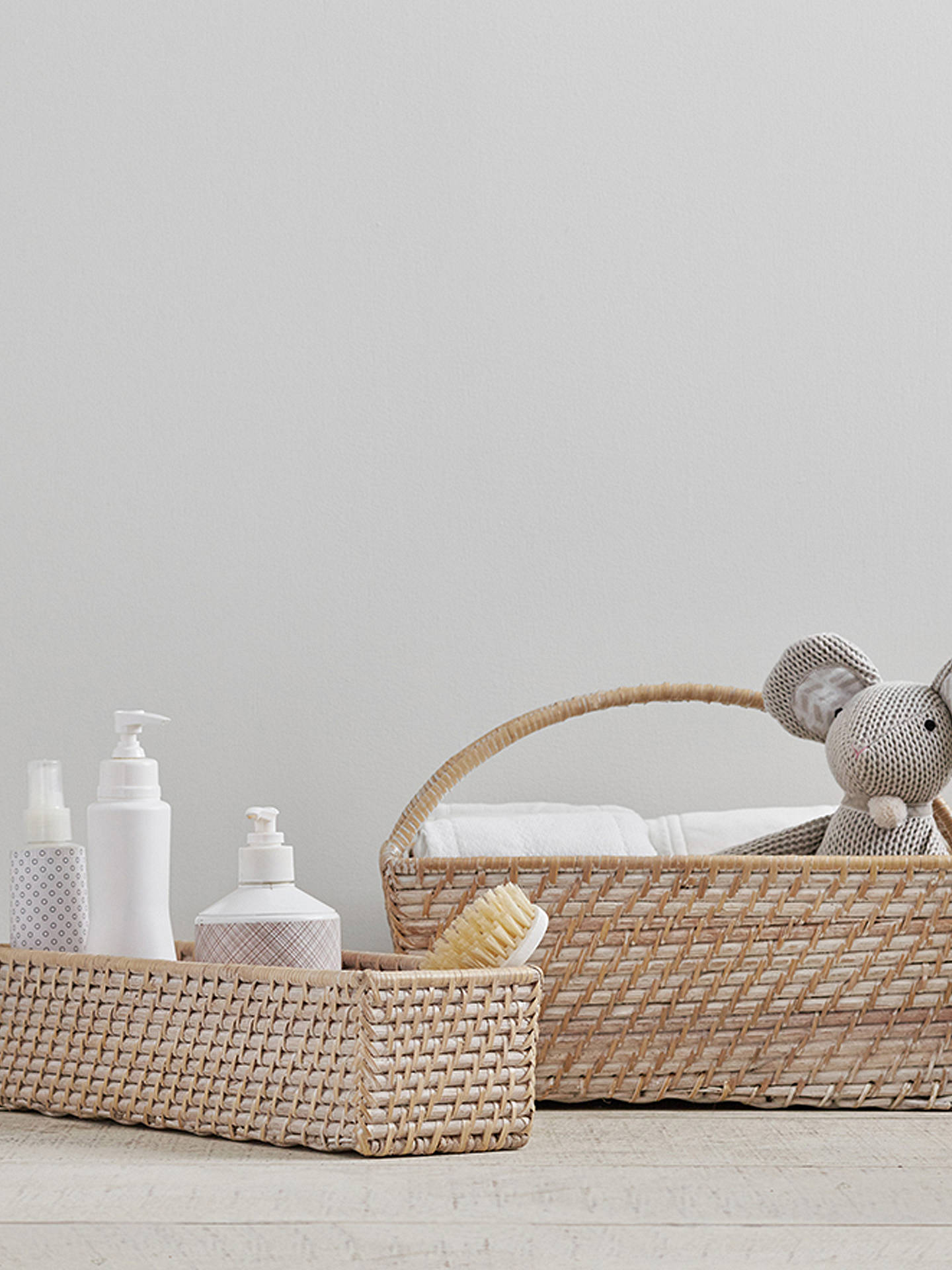 Pottery Barn Kids Quinn Changing Table Storage Basket