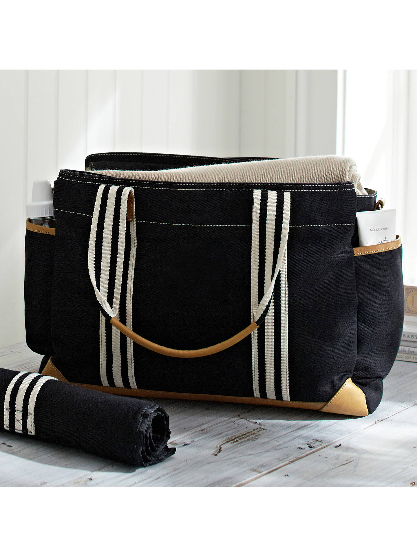 Buy Pottery Barn Kids Classic Changing Bag, Black Online at johnlewis.com