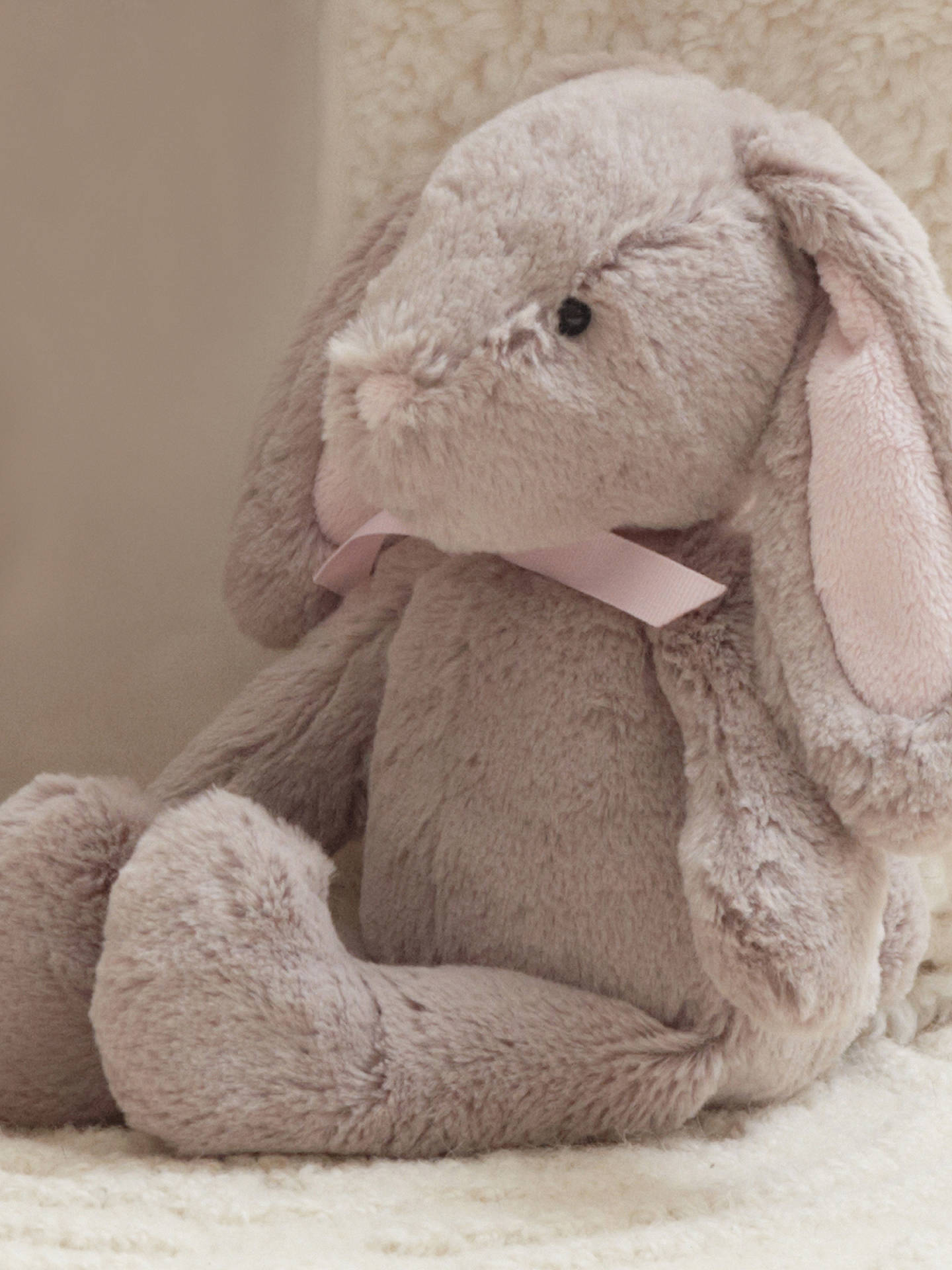 Buy Pottery Barn Kids Plush Bunny Soft Toy, Small Online at johnlewis.com