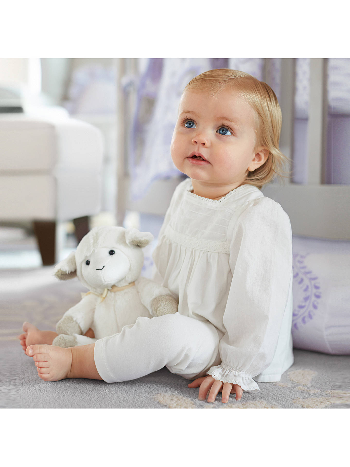 Buy Pottery Barn Kids Plush Lamb Soft Toy, Small Online at johnlewis.com
