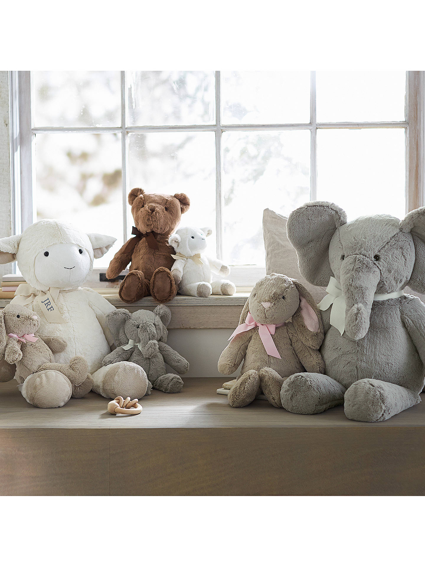 BuyPottery Barn Kids Plush Elephant Soft Toy, Small Online at johnlewis.com