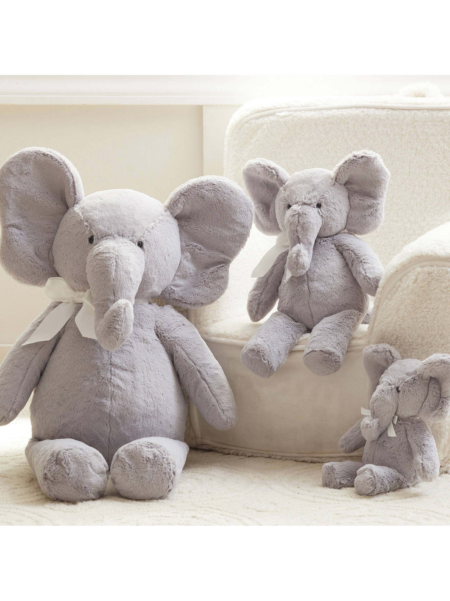 Buy Pottery Barn Kids Plush Elephant Soft Toy Online at johnlewis.com