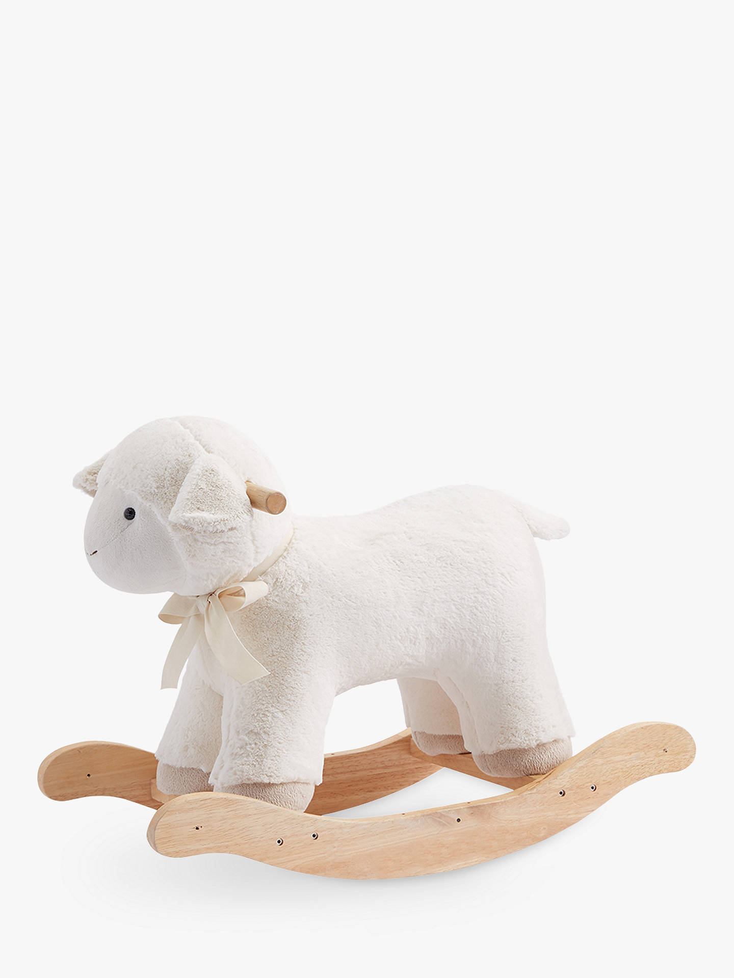 Pottery Barn Kids Plush Rocking Lamb At John Lewis Amp Partners