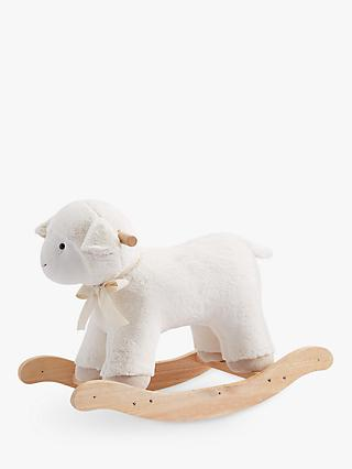 Pottery Barn Kids Plush Rocking Lamb